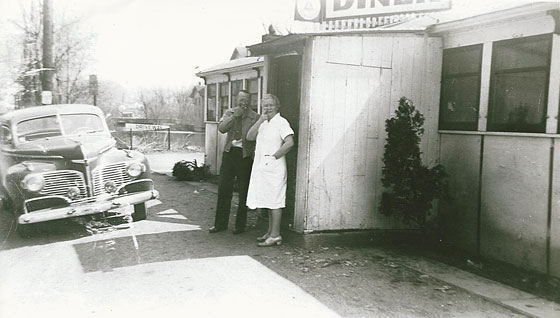 An old diner picture